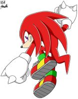 Knuckles the Echidna by VGAfanatic