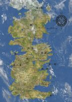 Map of Westeros by SupposedlyHuman