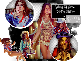 Pack png : Selena Gomez by Galleryoffame