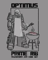 optimus prime rib by BrianKesinger