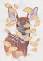 The fawn by VerteRill