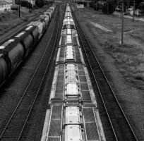 CP Rail over 1st street by sokolovic1987