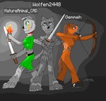 Minecraft Trio by NatureAnimalCAD