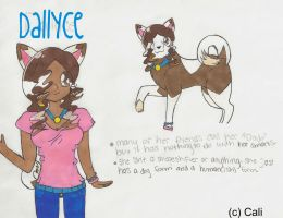 Dallyce - New Fursona by cali-cat
