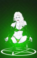 Lady Death Origins Art Deco by MDiPascale