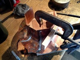 Building a Copper Flare Port Photo 03 by AEvilMike