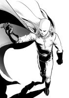 One punch man Saitama by Vimes-DA
