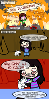 Deb plays Undertale - The Mafia Route...? by Kigurou-Enkou