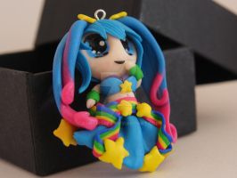 Arcarde Sona charm - League of Legends by Terrorwolf666