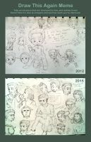 Draw It Again Meme: I Miss Being Assembled WIP by PATotkaca