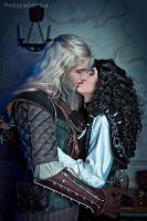 The Witcher - Geralt and Yennefer_6 by GreatQueenLina