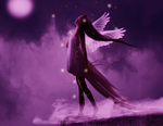 Angel in the Moonlight by ChisSweetArt