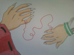 Red String of Fate by InvaderSkittles432