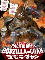 Pacific Rim vs Godzilla-chan by eva-guy01