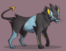 xray cat by CrookedLynx