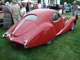 1937 TalbotLago T150C SS Teardrop Coupe RQ View by Aya-Wavedancer
