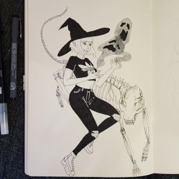 Day 3. Bad Witch by evilanimgirl