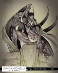 Batman in the Spotlight by GavinMichelli
