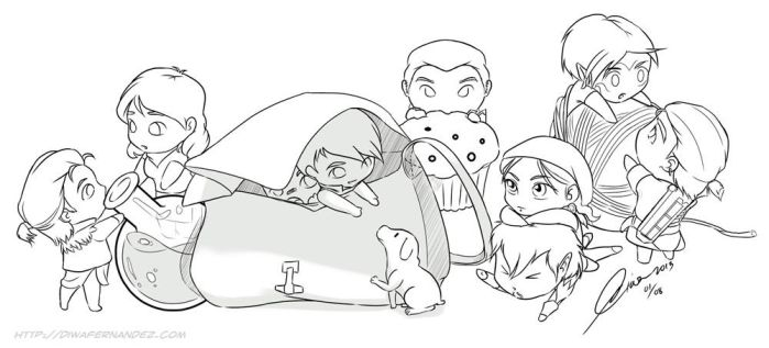 Dragon Age 2: Pocket Friends by madcoffee