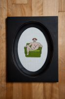 Cross Stitch - Bruce by flavialee