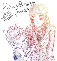 NaruHina: Happy Birthday Hinata 2012 by JcNight-Art