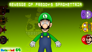 Revenge Of Freddy's Spaghettria by Pokemon8943