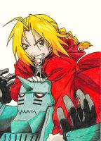 Elric Brothers by Smithy9