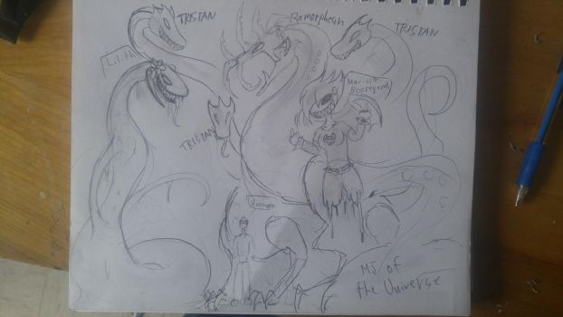 Monster group pic by MJ-OF-THE-UNIVERSE