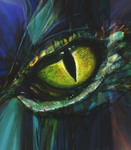 Dragon eye by LusiusMalfoy