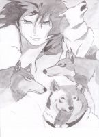 Wolf's Rain Collage by Sol-leks3