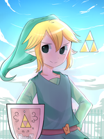 Toon Link by AngelaCali2