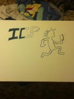 my homemade Insane Clown Posse poster by Flazthewolf