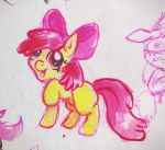 Quick Apple Bloom water color sketch by Aba-kadabra