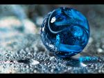 Wet and Blue Background by Creative--Dragon