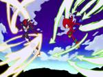 Shadow vs Knuckles by grim-zitos