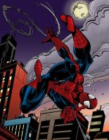 Spiderman By Mark Bagley by Luzproco