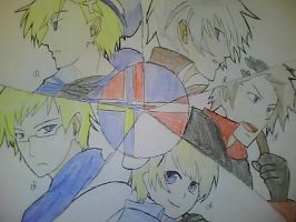 Hetalia- The Nordics by girfan18