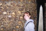 skulls in the Catacombes by jynxed-dhampir