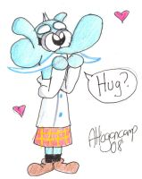 Hugs for Mung by little-ampharos