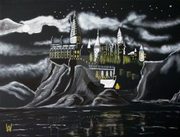 Night over Hogwarts by WilliamSnape