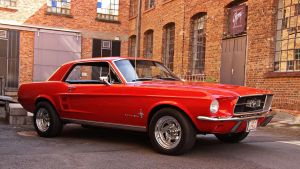Ford Mustang ( new edit ) by UdoChristmann