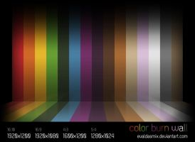 Color Burn Wall by evaldasmix
