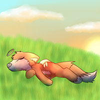 XIV - Smile ~ ''Laying Under the Sun'' by CleverConflict