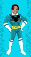 Aqua Disney Ranger David by HighwindDesign