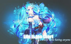 Out Edition Hatsune miku :3 by EditionsMerry