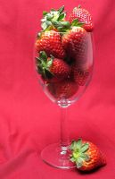 Strawberry Delight.. by NaturesTouch