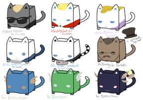 CubeCats: Custom Sheet 4 by Sanza-tan