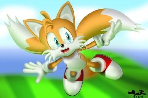Tails (Flight) by PiEqualsThreeOneFour