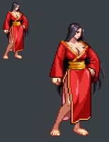 Sprite Work: General Shadow (Human Form) by SXGodzilla
