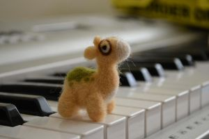 Needle Felted Numel by feltieflaffy